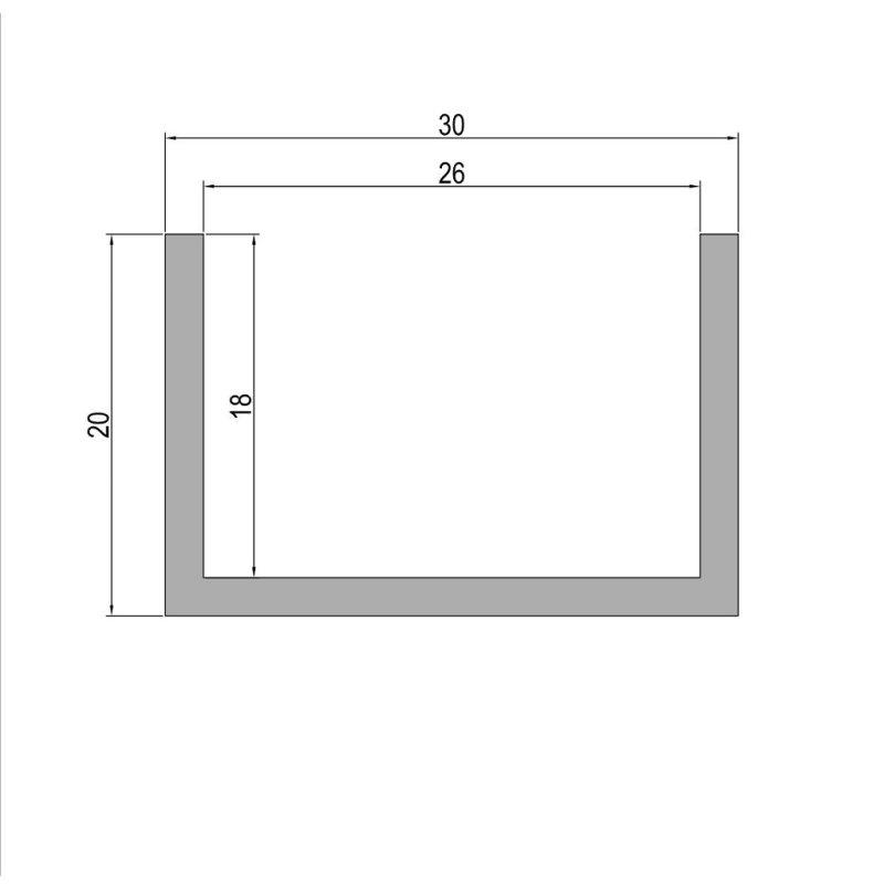 Alu Flachstange Aluminium 50 x 5 mm AlMgSi0,5 Profil Aluprofil Flach Alu Stange Flachmaterial 150 cm