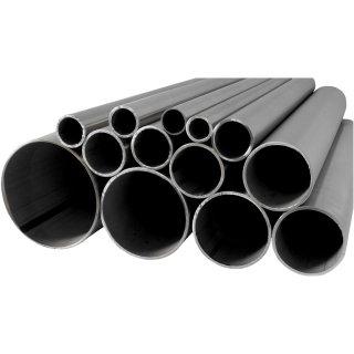 Rohrstopfen Halbrund Edelstahl V2A für Rohr 42,4x2,0 Geländer