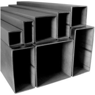V2A Edelstahl Rohr quadrat//vierkant Oberfl/äche geschliffen Korn 240 L/änge 2000 mm Abmessungen 30 x 30 x 2 mm