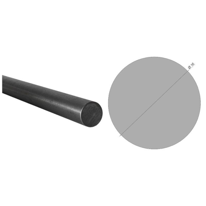 200cm Edelstahl Handlauf wei/ß Holz 42,4mm Gel/änder bis 6 m Wand Treppe Griff Stange Br/üstung Flache Linse