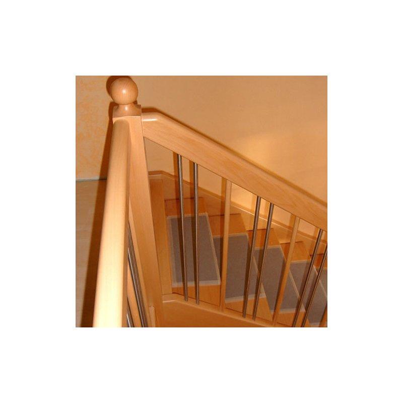 Treppenpfosten Treppengeländer Gedrechselte Säule Strebe Buche Holzgeländer